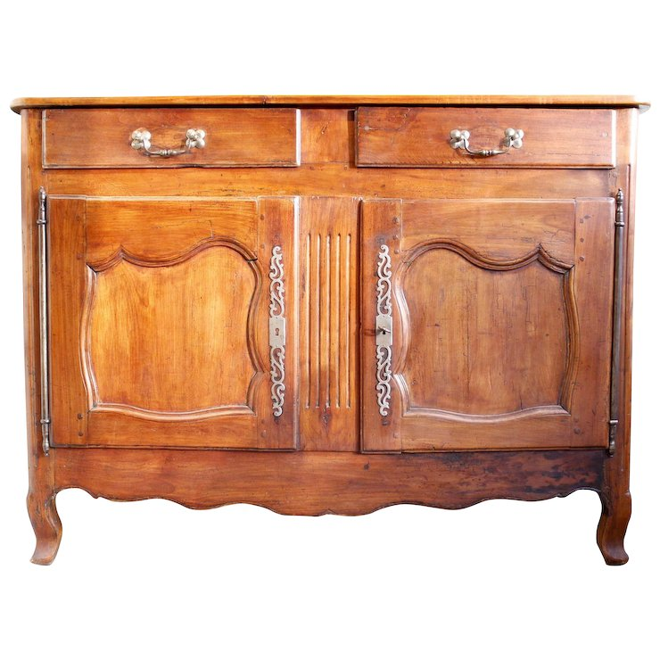Provincial French Cherry Sideboard Or Buffet 19th Century