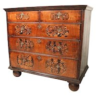 William & Mary Marquetry Chest of Drawers