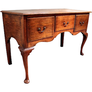 Georgian Dresser Base Sideboard, 18th Century