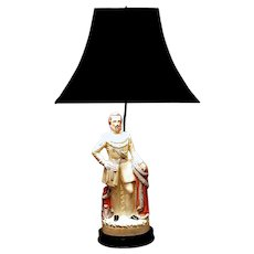 Prince of Wales Staffordshire Lamp