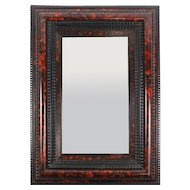 Flemish Style Faux Painted Tortoiseshell Mirror