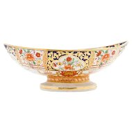 English Imari and Gilt Fruit Bowl