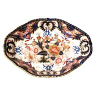 English Derby Imari Vegetable Dish, ca. 1830
