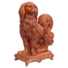 Italian Terracotta Dog - Spaniel