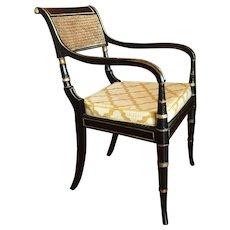 English Regency Period Armchair, Early 19th Century