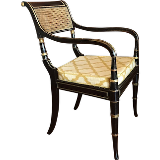 English Regency Period Armchair, Early 19th Century