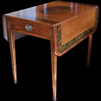George III Harewood Pembroke Table