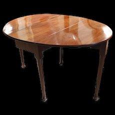 George II Period Small Oval Dropleaf Table