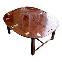 George III Period Mahogany Butler's Tray Table Coffee Table
