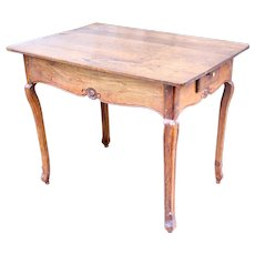 18th Century French Provincial Oak Side Table