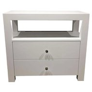 Linen Wrapped Chest