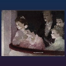 "Dietz Ezard's ""La Famille dans la Loge"""
