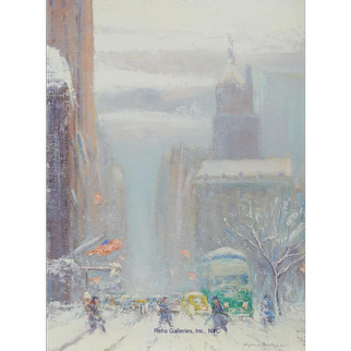 Johann Berthelsen - 5th Avenue Looking South from 60th Street