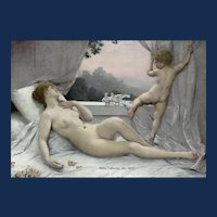Louis-Joseph Courtat: Le Réveil de Vénus (The Awakening of Venus)