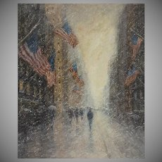 Flags, Presidents Day, Fifth Avenue