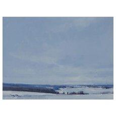 Snow in Mondovi, Study