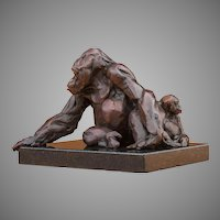 Father and Son Maquette