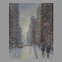 Windy City (Michigan Avenue, Winter)