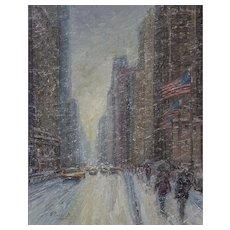 Windy City (Michigan Avenue, Winter)