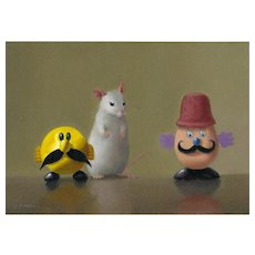 3 Mustaches