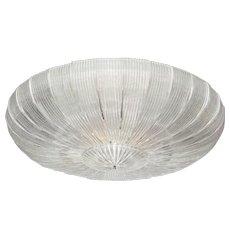 "Large Italian Murano Glass ""Plafoniera"" Chandelier (4 ft. diameter.)"