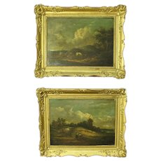 19th Century Pair Of French Paintings