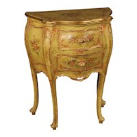 20th Century Venetian Lacquered Nightstand