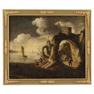 18th Century Antique Italian Oil Painting