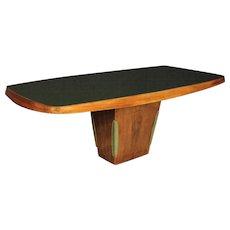 """20th Century Italian Design """"Dassi"""" Table In Palisander"""