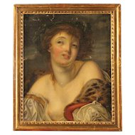 19th Century French Portrait Painting