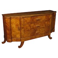 20th Century French Art Deco Sideboard In Wood