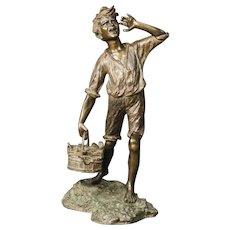 20th Century Neapolitan Sculpture In Bronze