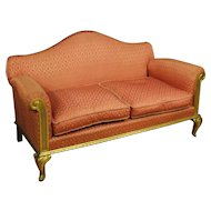 20th Century Spanish Gilt Sofa