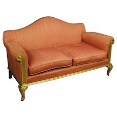 20th Century Spanish Gilt Sofa