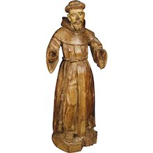 18th Century Antique French Religious Sculpture