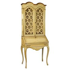 20th Century Italian Trumeau In Lacquered And Painted Wood