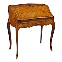 20th Century French Bureau In Rosewood, Palisander And Maple