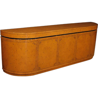 20th Century Spanish Design Sideboard in Lacquered And Painted Wood