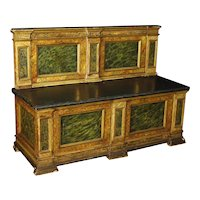 20th Century Italian Chest In Lacquered Wood
