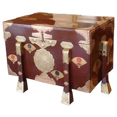 Late Edo Period Karabitsu or Storage Chest