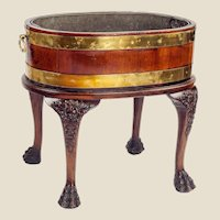 An Irish George II Period Wine Cooler