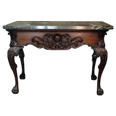 George II Period Mahogany Pier Table