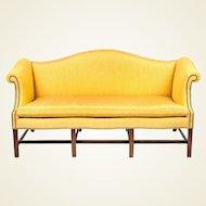 George III Style 'Camel Back' Sofa