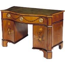George III Kneehole Desk