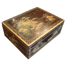 Late Meiji Period Bunko-Bako or Document Box