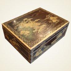 Late Meiji Period Bunko-Bako or Document Box