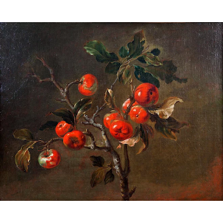Antoine Berjon – Still Life of Apples