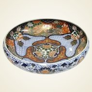 Late Meiji Period Bowl of Imari Palette