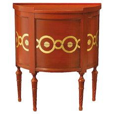 Chappell & McCullar Contemporary Classics – Guilloche Demilune Chest