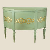 Chappell & McCullar Contemporary Classics – Large Guilloche Demilune Chest